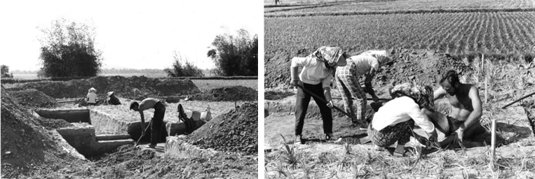 宋文薰、張光直1964年冬季營埔遺址發掘